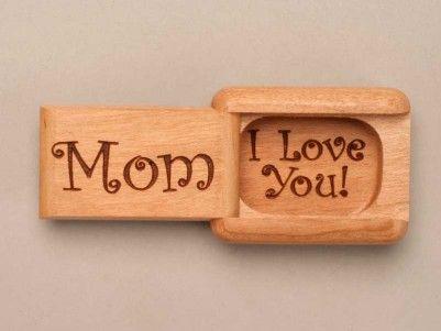 Mom, I Love You Cherry Secret Box! #woodenbox