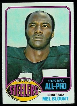 1976 topps football cards | Mel Blount - 1976 Topps #480 - Vintage Football Card Gallery