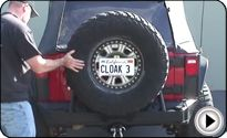 Jeep Wranger JK Wrangler Rear Bumpers & Tire Carriers