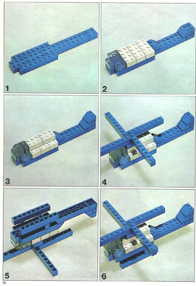 helikopter van lego