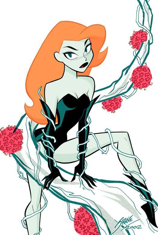 poison ivy cartoon character | Pamela Isley (DCAU) - DC Comics Database