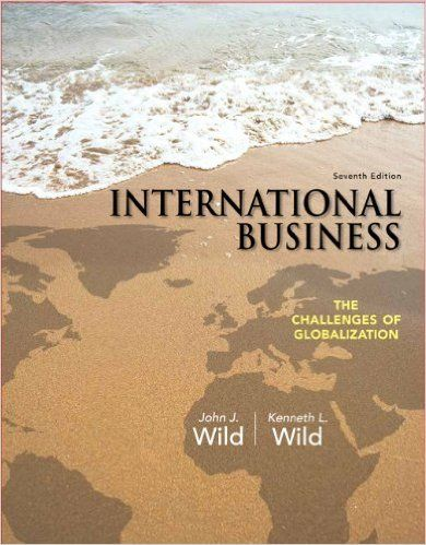 18 best business images on pinterest test bank for international business the challenges of globalization 7e wild fandeluxe Image collections