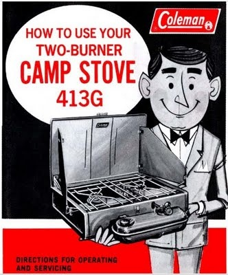 Yep!  This is what we cooked on when we went camping on vacations!