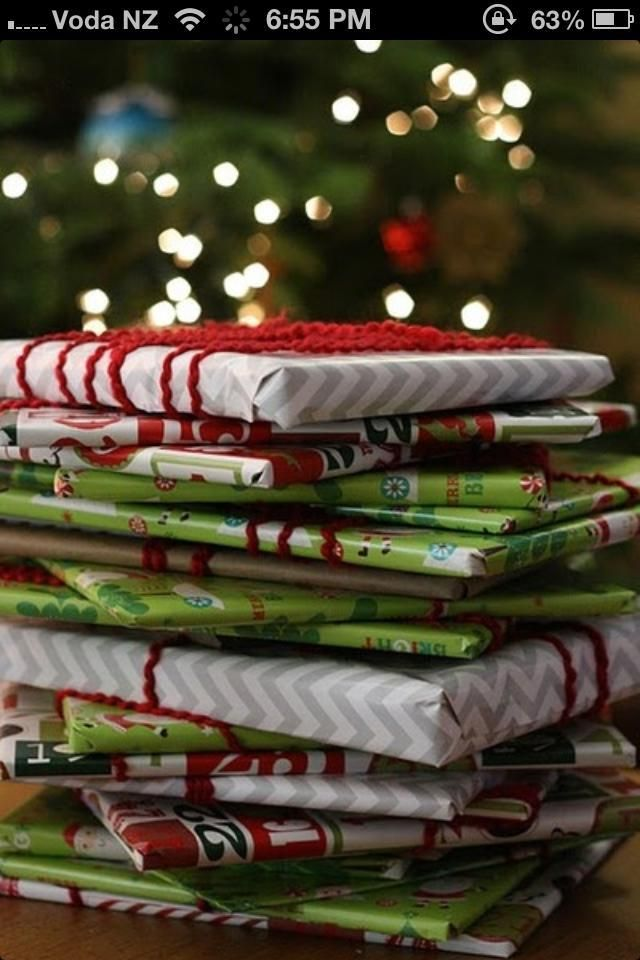 Start a new family Christmas Tradition.. Buy 12 books throughout the year, wrap them up and the 12 days before Christmas let your little one chose one to open every night, sit in front of the Christmas tree, lights off, tree lights on and read them a bedtime story ♥