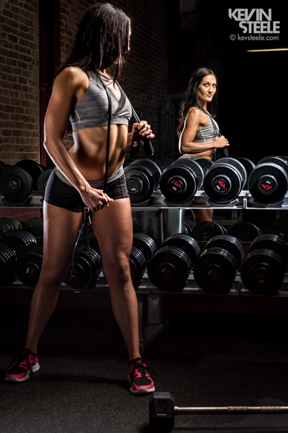 fitness modeling photo shoot ideas - Nicole fitness shoot Santa Barbara CA Kevin Steele