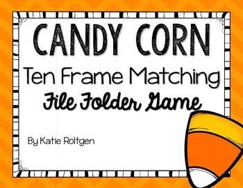 This easy-to-assemble file folder game will be a hit at your math centers!  Students will match numerals 11-19 with their matching ten frames.  Instructions for game assembly are included.  Thank you!*****************************************************************************Check out some other great resources!Pumpkin Life Cycle ActivitiesHalloween Math and Literacy Centers Halloween Printables BundleHalloween Counting…