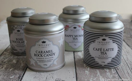 Sonntags ist Kaffeezeit: Mein Tee von Tafelgut