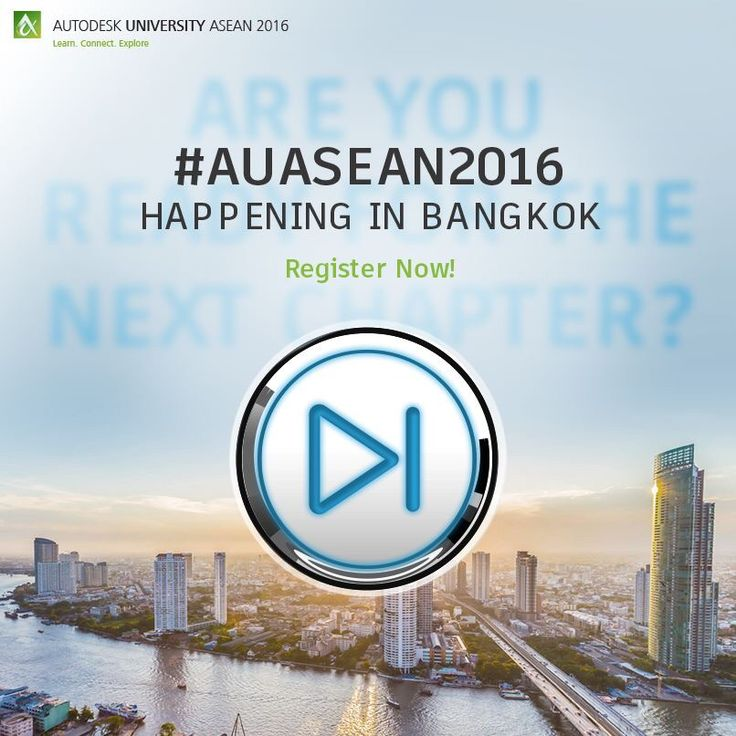 Register before 31st May and save THB1800! More information is available at http://autode.sk/auasean2016 #AUASEAN2016