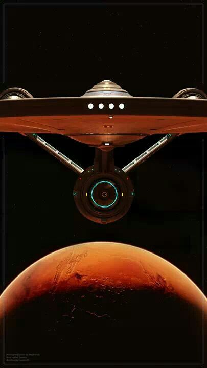 Star Trek . . . boldly going . . .   where no man has gone before. . .