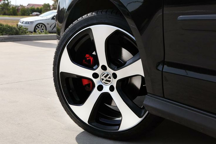 Vw Polo Gti With Mk7 Golf Gti Alloy Wheels Cars For The