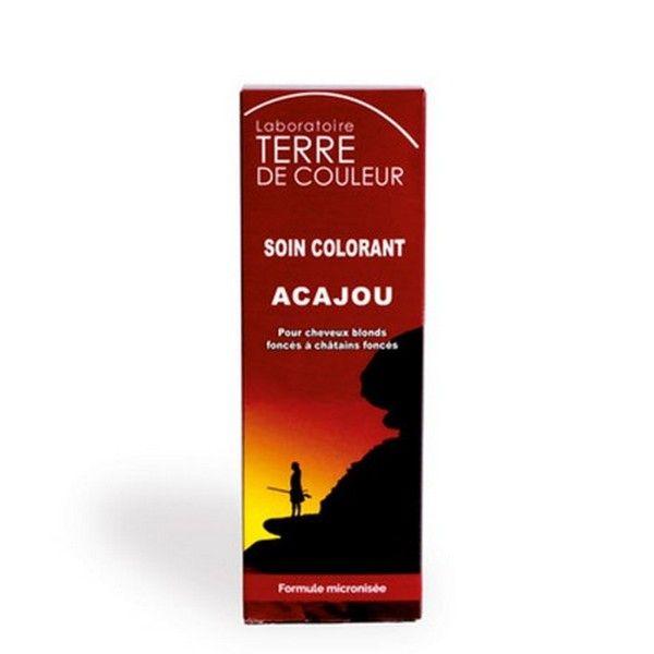 Coloration Végétale Acajou