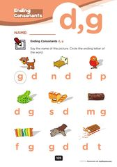 Level 2 Phonics worksheets