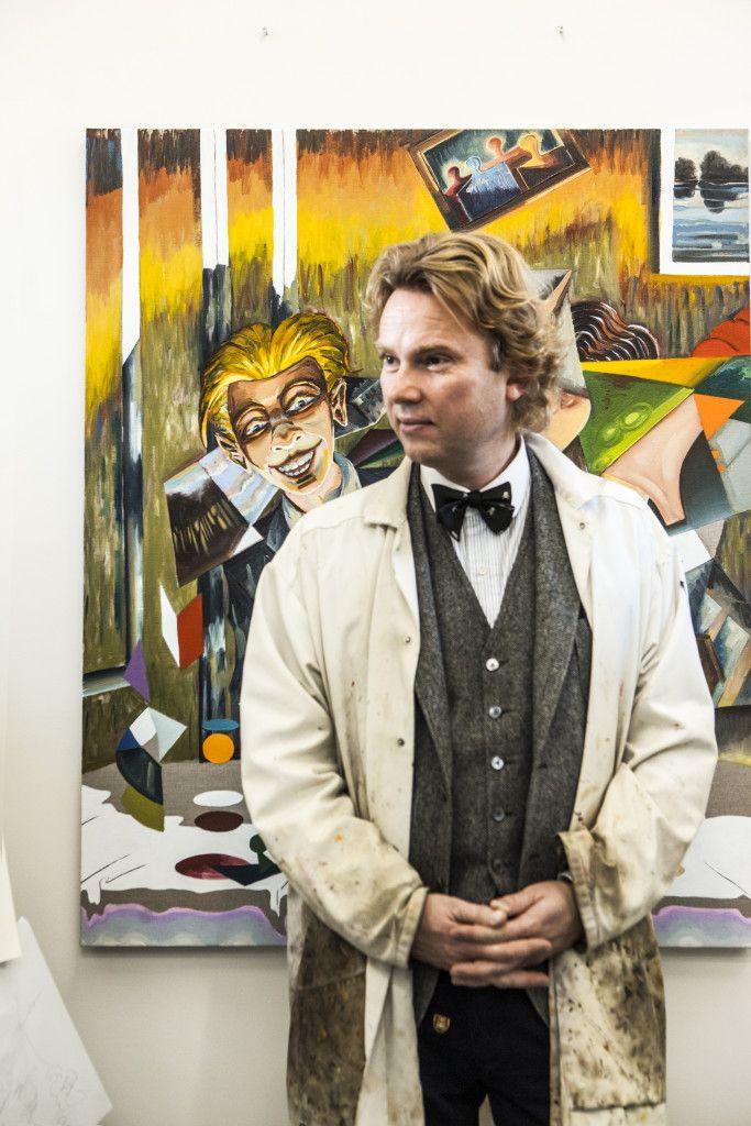 Martin Bigum. brilliant danish artist