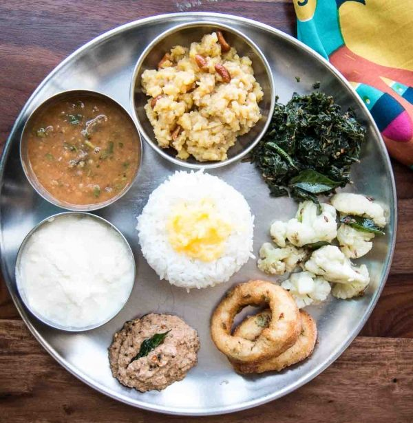 South Indian Thali Menu 1 (With Ideas & Recipes)
