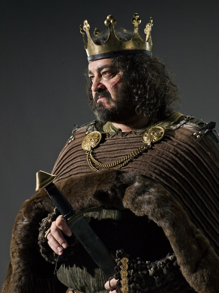 Ivan Kaye as Ælla (or Ælle) (died 21 March 867), King of Northumbria, in VIKINGS Season 1 Promotional photo
