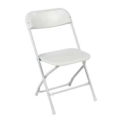 ontario furniture lightweight lifetime commercial grade contoured stackable weight capacity premium steel frame white metal folding chair with plastic