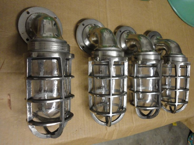 Industrial Steel Cage Lights