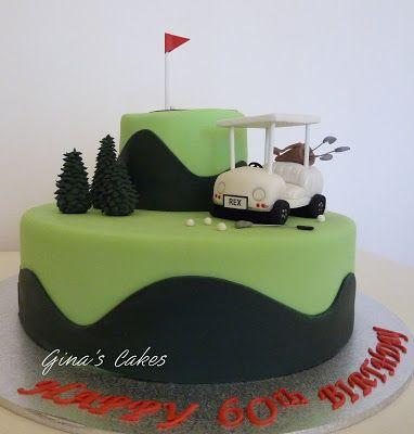 50th golf birthday cakes for men | Golf Birthday Cake