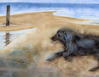 "Check out new work on my @Behance portfolio: ""Le chien bleu"" http://be.net/gallery/54324639/Le-chien-bleu"