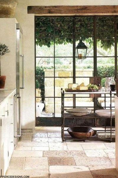 Beautiful natural transition - critall doors
