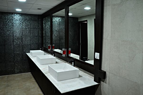 17 best images about corporate bathroom on pinterest in for Corporate bathroom ideas