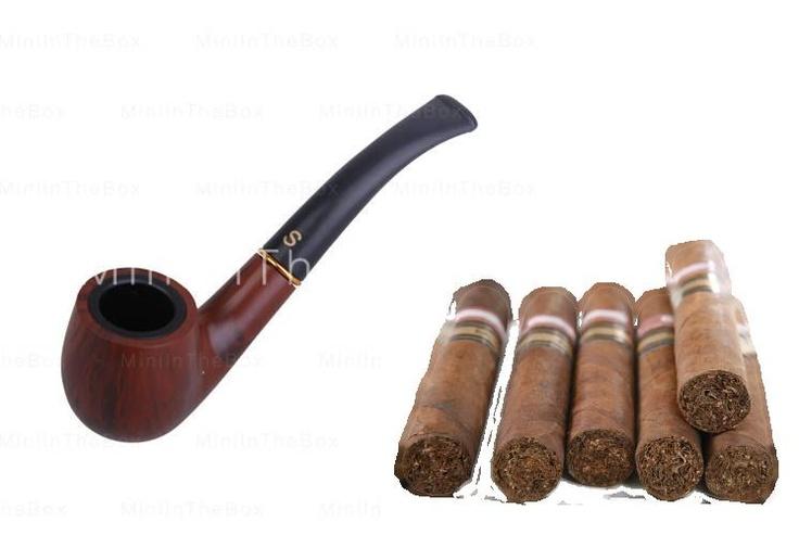 Mannen of erger nog....vrouwen welke Sigaren of Pijpen roken! Yuk-Yuk-Yuk...alleen die (crematorium) Lucht al...Bah!