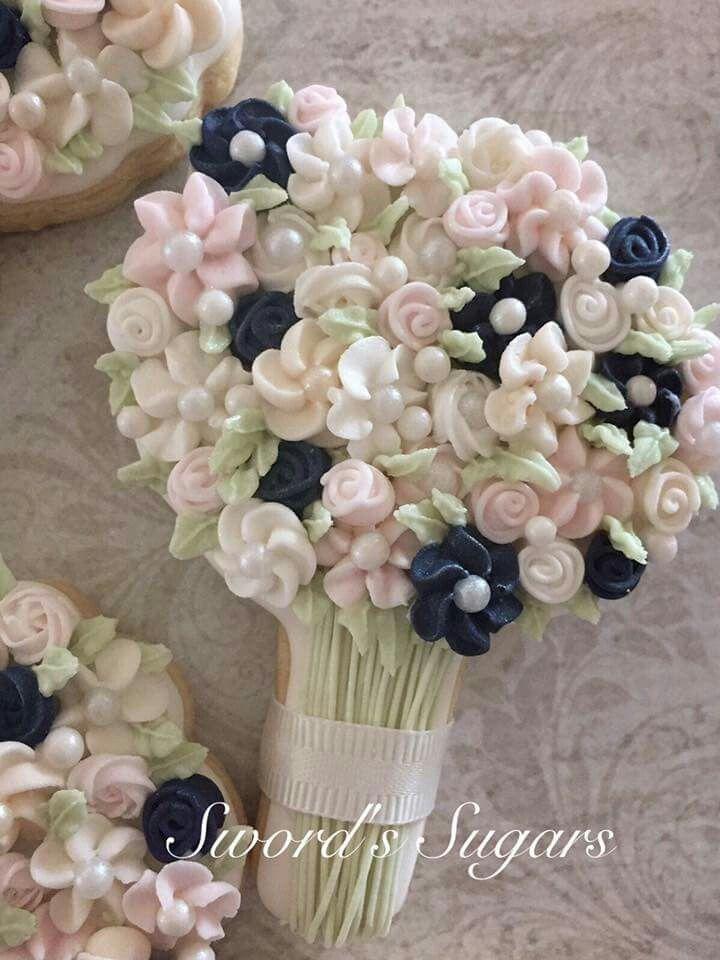 Sword's Sugars :  wedding bouquet.