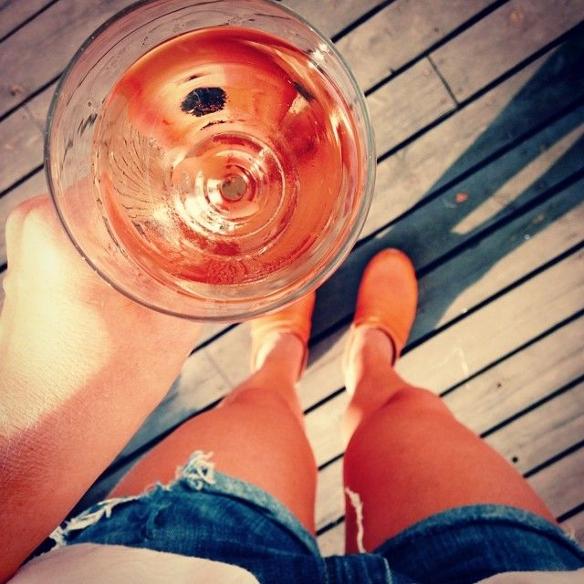 Rosé & clogs.  #summer #theonlyway #rosé #clogs #träskor #vacation #love #happy