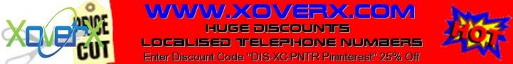 Discount code DIS-XC-PNTR Pininterest 25%