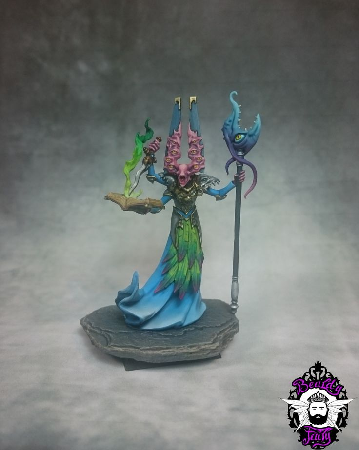 Silver Tower Tzeentch Sorcerer 1 (With images) Warhammer