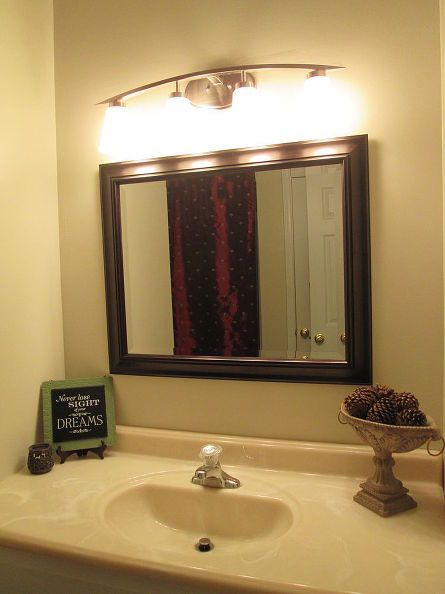 Eeeewh Tired Of Those Dressing Table Lights, In Your Bath?.......