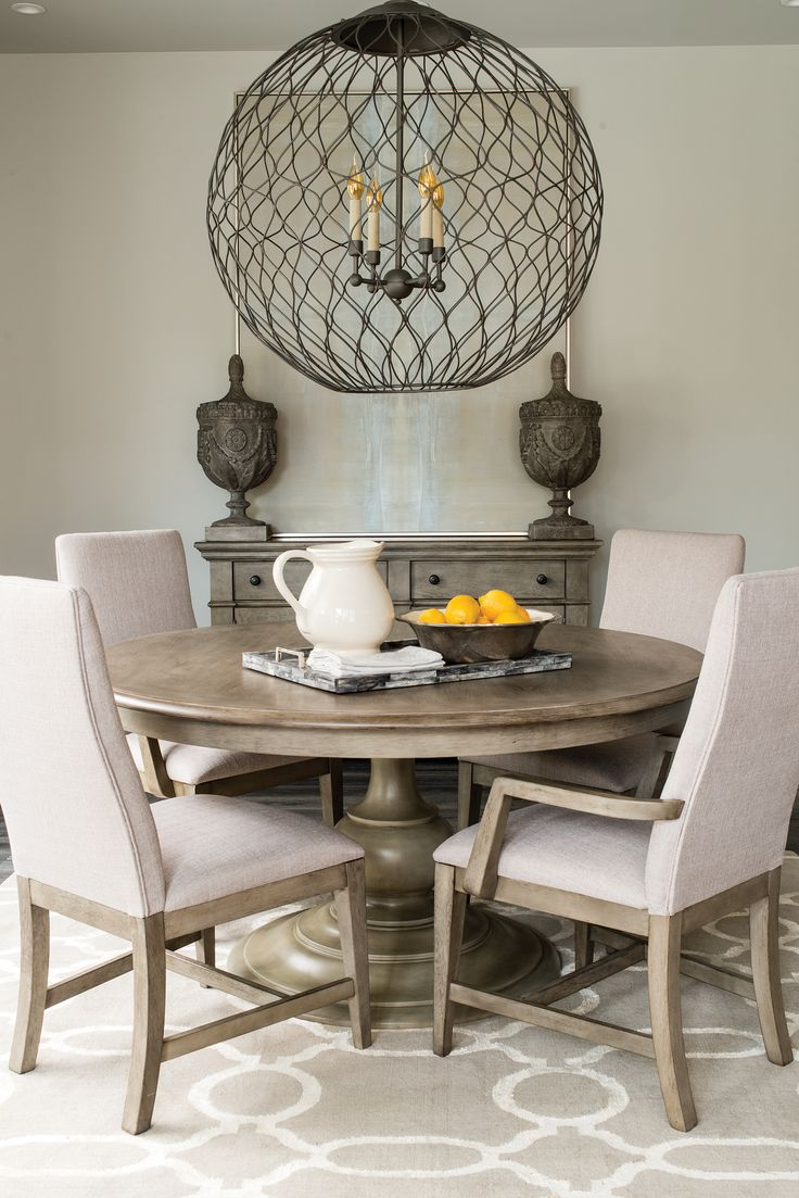 best 25 round wood dining table ideas on pinterest round kitchen tables round dining table. Black Bedroom Furniture Sets. Home Design Ideas