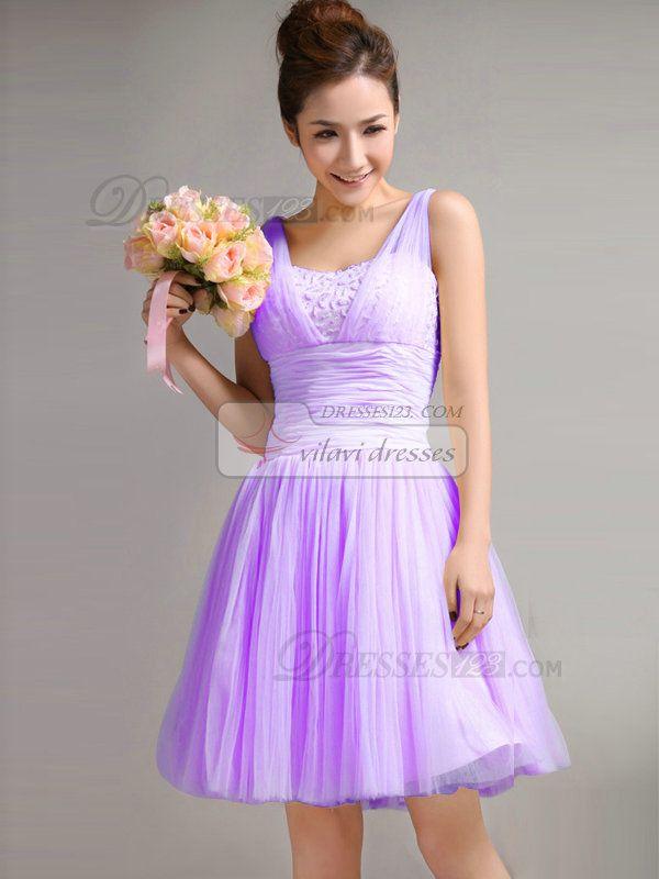 Lilac Bridesmaid Dresses Uk