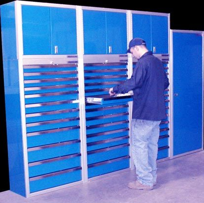 aluminum storage cabinets and extra tall tool chests