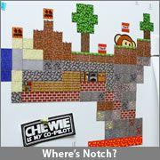 ThinkGeek :: Minecraft Sheet Magnets