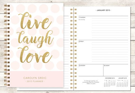 32 best personalized planners - choose your start month images on