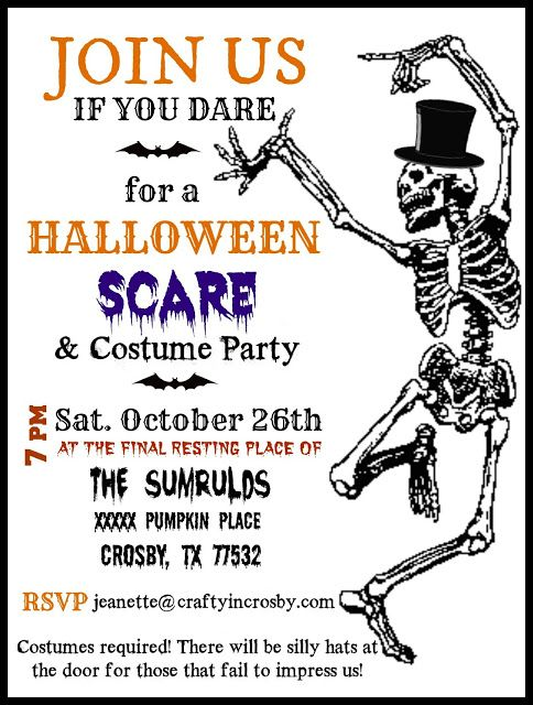 17 Best ideas about Halloween Party Invitations – Costume Party Invitation Wording