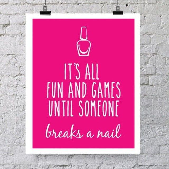 wahandaToo true!  #funny #quote #qotd #nails #mani #manicure #manimonday #instaquote #bbloggers