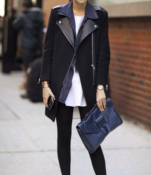 Dark colors for fall fashion