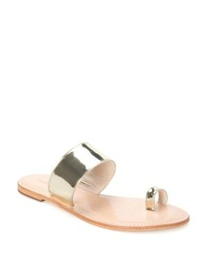 Georgia Metallic Sandal | Woolworths.co.za