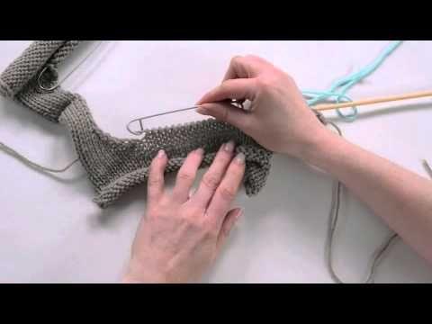 ▶ 12 Riprendere le maglie su una scollatura - YouTube
