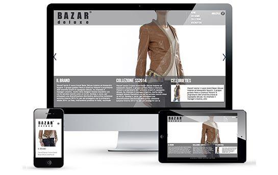 Il nuovo sito di Bazar Deluxe