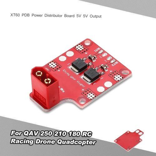 (4.99$)  Watch here  - XT60 PDB Power Distributor Board 5V 5V Output for QAV 250 210 180 RC Racing Drone Quadcopter
