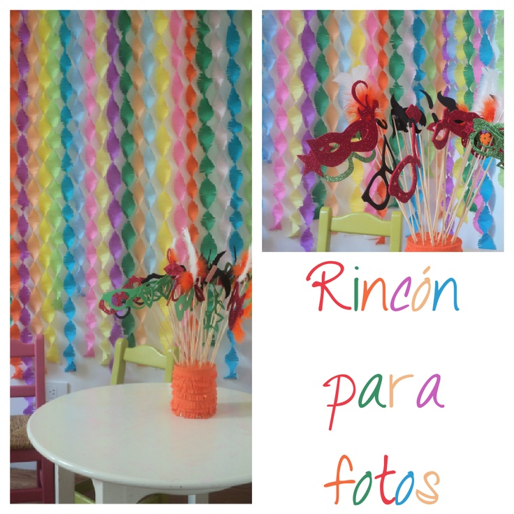 Cute party ideas. Site in Spanish btw