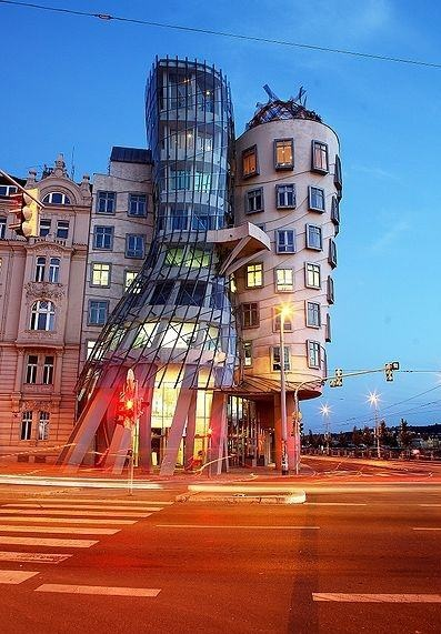 PLACES I VISITED ● Dancing House by Frank Gehry, Prague, Czech Republic