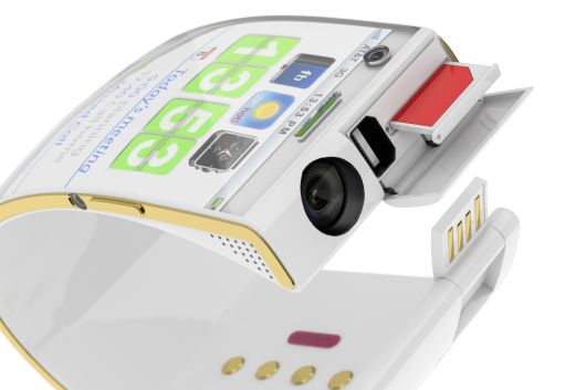 The #Emopulse #Smile has three cameras, a front-facing webcam, a 12-megapixel snapper and a side-mounted camera... Yeah, I'll take one! :)