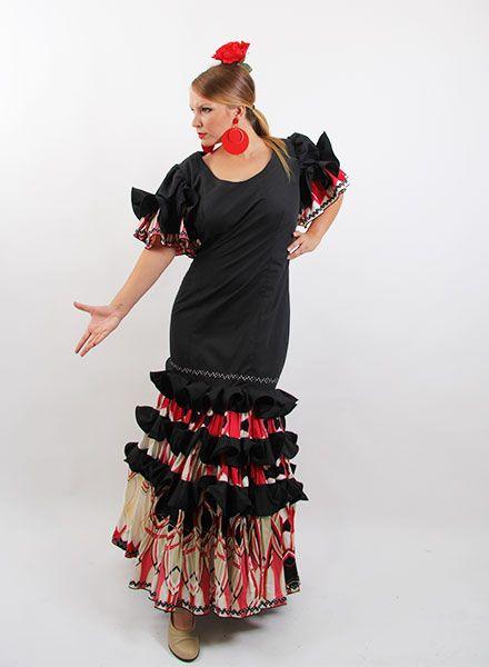 Trajes de flamenca 2015 oferta desde la talla 34 a la 56 por solo 99 € http://www.elrocio.es/41-trajes-de-flamenca-baratos #trajesdeflamenca #trajesdeflamenca2015