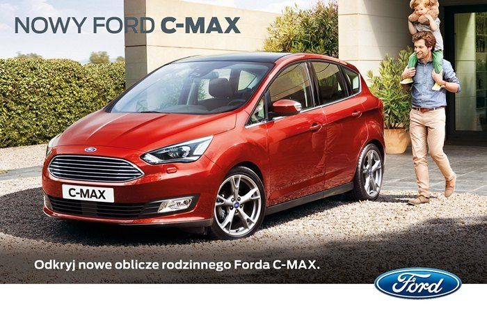 Oto całkowicie nowe modele w rodzinie Forda - 5 - osobowy Ford C-MAX i 7 - osobowy Ford Grand C-MAX, stanowiące doskonałe połączenie innowacyjności, nowego stylu i funkcjonalności. Zaawansowana technologia, znakomite własności jezdne i jeszcze lepsza trwałość gwarantują niepowtarzalną jakość jazdy. Gdy dodać do tego większy komfort i funkcjonalność. Ford C-MAX i Ford Grand C-MAX pod każdym względem są pojazdami nowej generacji.