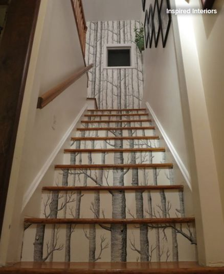 Papier Peint Montee Escalier. Latest Crdit Photo Initial Dco With ...