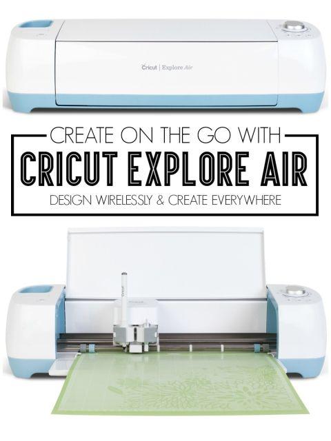 Create on the go with Cricut Explore Air - thecraftedsparrow.com